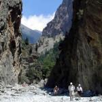 Le Gole di Samaria, Creta, Grecia. Autore e Copyright Luca di Lalla