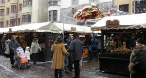 Mercatini di Natale di Innsbruck, Austria. Autore e Copyright Liliana Ramerini