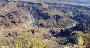 Fish River Canyon, Namibia. Author and Copyright Marco Ramerini