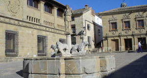 Fuente de los Leones, Baeza, Andalusia, Spagna. Author and Copyright Liliana Ramerini