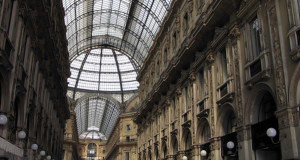 Galleria Vittorio Emanuele II, Milano, Lombardia, Italia. Autore e Copyright Marco Ramerini