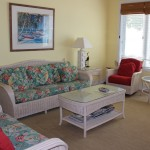 L'interno di una villa, Cape Santa Maria Beach Resort, Long Island, Bahamas. Autore e Copyright Marco Ramerini.