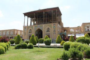 Palazzo Ali-Qapu, Piazza Naqsh-e jahān, Esfahan, Iran. Autore e Copyright Marco Ramerini,