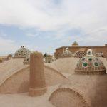 Tetto del Bagno del Sultano Amir Ahmad, Kashan, Iran. Autore e Copyright Marco Ramerini.