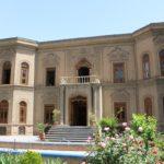 La facciata del Museo del vetro e della ceramica, Teheran, Iran. Autore e Copyright Marco Ramerini