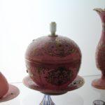 Oggetti in vetro, Museo del vetro e della ceramica, Teheran, Iran. Autore e Copyright Marco Ramerini