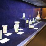 Oggetti in vetro, Museo del vetro e della ceramica, Teheran, Iran. Autore e Copyright Marco Ramerini.