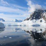 La baia con il ghiacciaio, Lemaire Channel, Antartide. Autore e Copyright Marco Ramerini