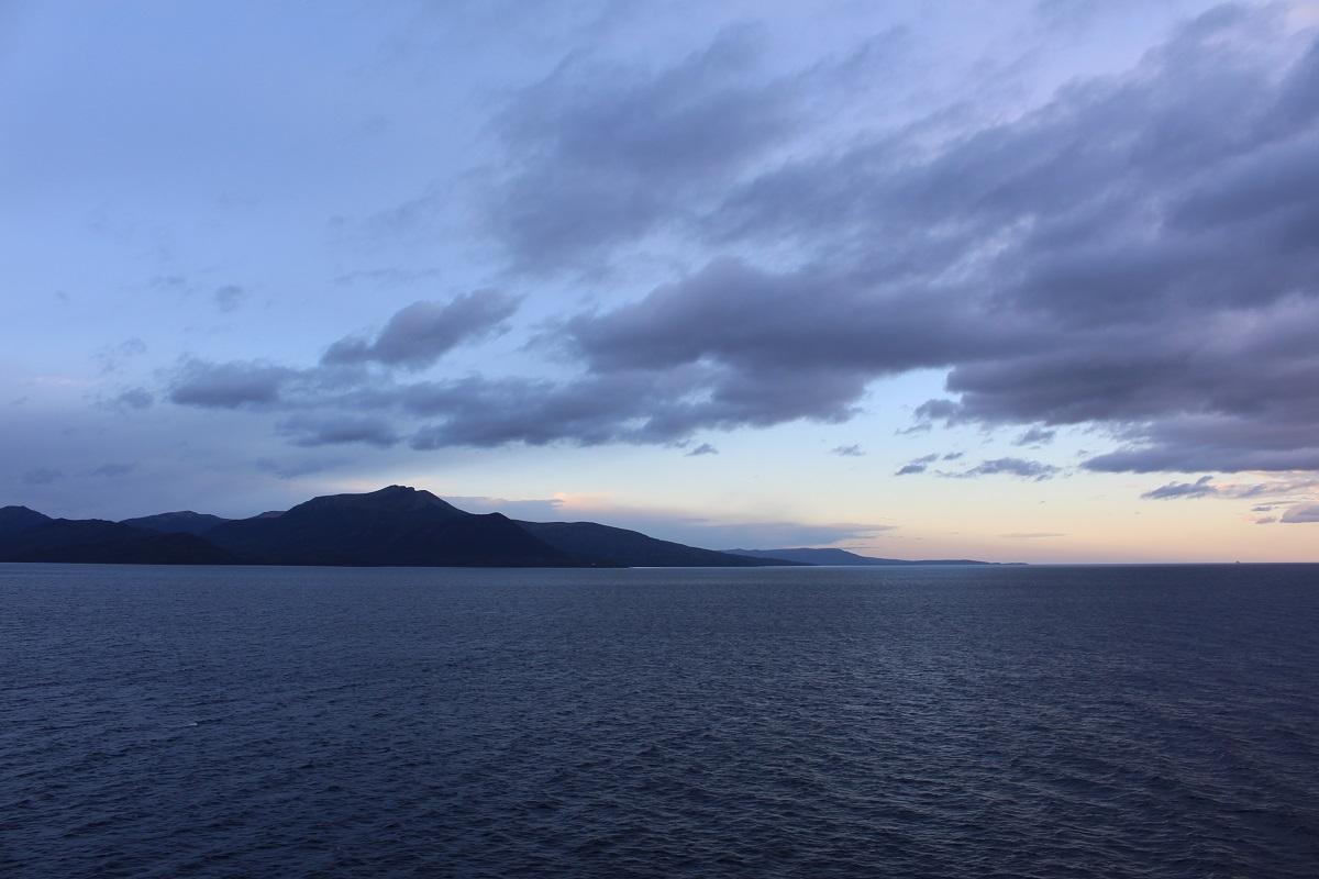 Stretto di Magellano, Punta Arenas, Cile. Autore e Copyright Marco Ramerini