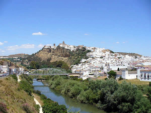 Arcos de la Frontera, Andalusia, Spagna. Author and Copyright Liliana Ramerini