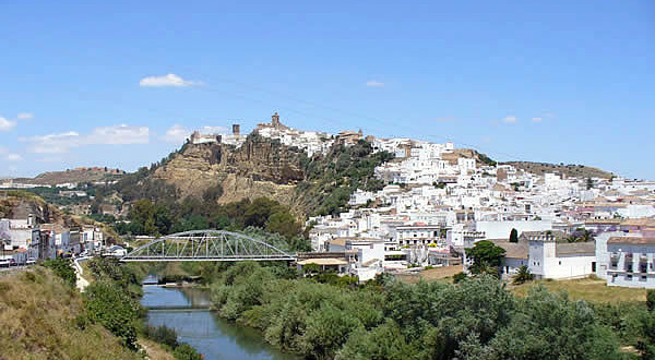 Arcos de la Frontera, Andalusia, Spagna. Author and Copyright Liliana Ramerini