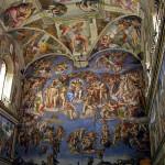 Cappella Sistina, Città del Vaticano, Roma, Italia. Author and Copyright Marco Ramerini