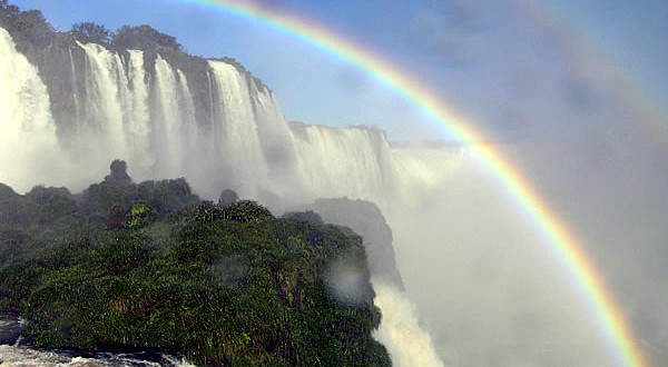 Cascate di Iguazú, Brasile-Argentina. Author and copyright Marco Ramerini