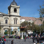 La Paz, Bolivia. Author and Copyright Nello and Nadia Lubrina