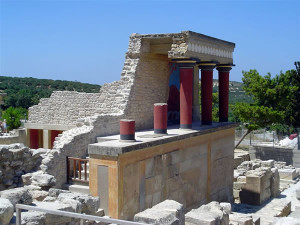 Cnosso, Creta, Grecia. Autore e Copyright Luca di Lalla