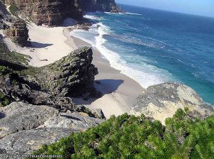 Diaz Beach, Cape of Good Hope Nature Reserve, Table Mountain National Park, Sudafrica. Author and Copyright Marco Ramerini
