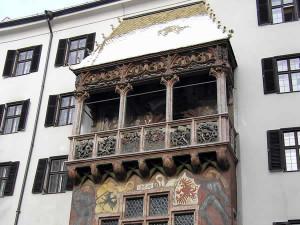 Il Tetto d'Oro, Innsbruck, Tirolo, Austria. Autore e Copyright Liliana Ramerini