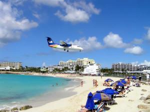 Maho Bay, Sint Maarten. Author and Copyright Marco Ramerini