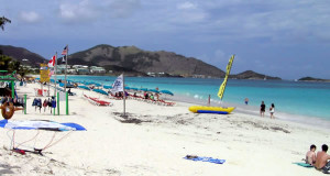 Orient Bay, Saint Martin. Author and Copyright Marco Ramerini