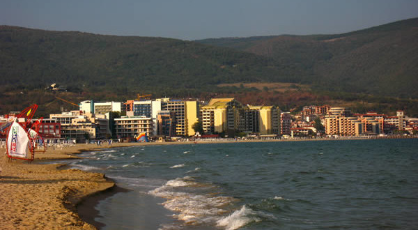 Sunny Beach (Slanchev Bryag), Bulgaria. Author Михал Орела. Licensed under Creative Commons Attribution