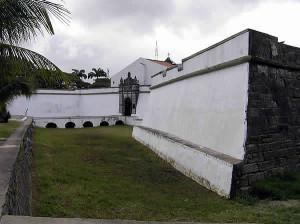 Forte do Brum, Recife, Pernambuco, Brasile. Author and Copyright Marco Ramerini