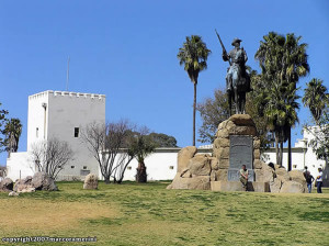 Il forte tedesco di Alte Feste, Windhoek, Namibia. Author and Copyright Marco Ramerini
