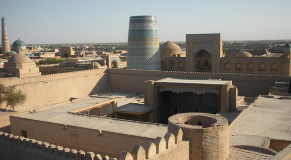 Khiva, Uzbekistan. Author and Copyright Nello and Nadia Lubrina