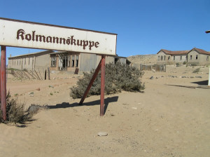 Kolmanskop, Namibia. Author and Copyright Marco Ramerini