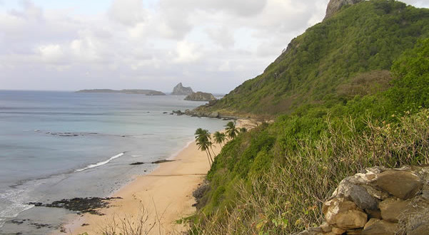 Praia do Boldró, Fernando de Noronha, Brasile. Author and Copyright Marco Ramerini