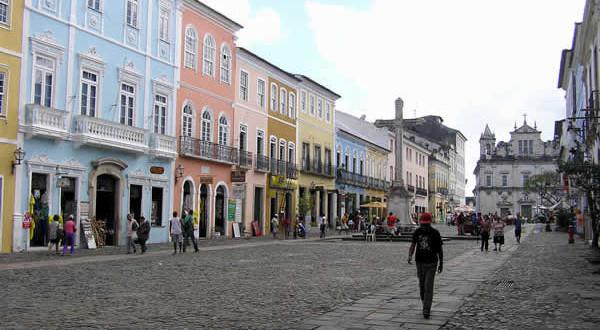 Salvador de Bahía, Bahía, Brasile. Author and Copyright Marco Ramerini....