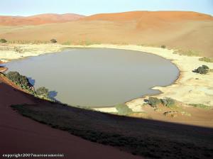 Sossusvlei, Deserto del Namib, Namib-Naukluft. Author and Copyright Marco Ramerini