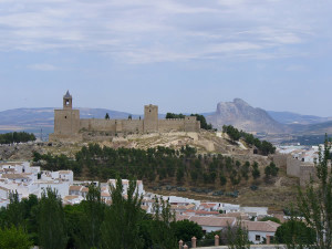 Alcazaba, Antequera, Andalusia, Spagna. Author and Copyright Liliana Ramerini