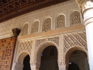 Alhambra, Granada, Andalusia, Spagna. Author and Copyright Liliana Ramerini