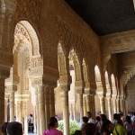 Alhambra, Granada, Andalusia, Spagna. Author and Copyright Liliana Ramerini.