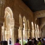 Alhambra, Granada, Andalusia, Spagna. Author and Copyright Liliana Ramerini.