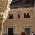 Alhambra, Granada, Andalusia, Spagna. Author and Copyright Liliana Ramerini..