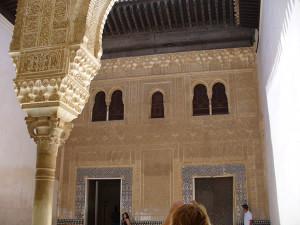 Alhambra, Granada, Andalusia, Spagna. Author and Copyright Liliana Ramerini..