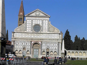 Basilica di Santa Maria Novella, Firenze. Author and Copyright Marco Ramerini