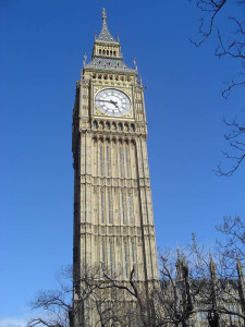 Big Ben, Londra. Author and Copyright Niccolò di Lalla