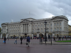 Buckingham Palace, Londra. Author and Copyright Niccolò di Lalla