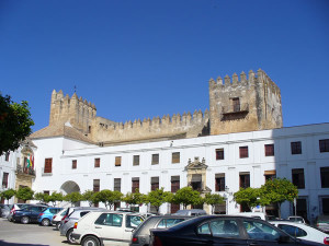 Castillo de Arcos, Arcos de la Frontera, Andalusia, Spagna. Author and Copyright Liliana Ramerini