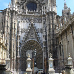 Cattedrale di Siviglia, Andalusia, Spagna. Author and Copyright Liliana Ramerini...