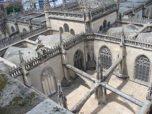 Cattedrale di Siviglia, Andalusia, Spagna. Author and Copyright Liliana Ramerini....