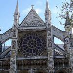 Facciata nord, Abbazia di Westminster, Londra, Regno Unito. Autore e Copyright Marco Ramerini