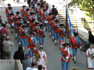 Festa Folcloristica, Zermatt, Svizzera. Author and Copyright Marco Ramerini