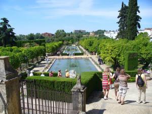 Jardines del Alcázar, Cordoba, Andalusia, Spagna. Author and Copyright Liliana Ramerini