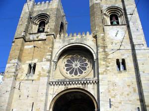 La cattedrale di Lisbona, Portogallo. Autore e Copyright Liliana Ramerini