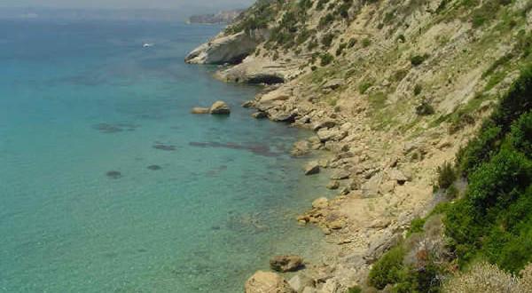 La costa vicino a Koroni, Cefalonia, Grecia. Author and Copyright Niccolò di Lalla