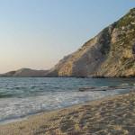 La spiaggia di Petani, Cefalonia, Ionie, Grecia. Author and Copyright Niccolò di Lalla