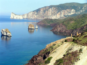 Nebida e Masua, Sardegna, Italia. Autore e Copyright Marco Ramerini